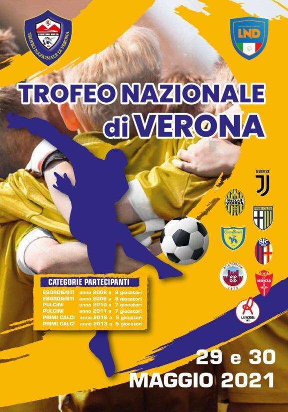 BROCHURE TROFEO NAZIONALE DI VERONA pag. 1